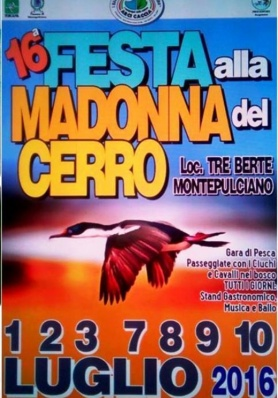 16th Festival to the Madonna del Cerro