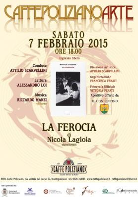 LA FEROCIA di Nicola Lagioia al Caffe Poliziano -  ...