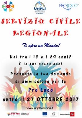 Nuovo Bando Servizio Civile  - Scadenza 27 ottobre ...