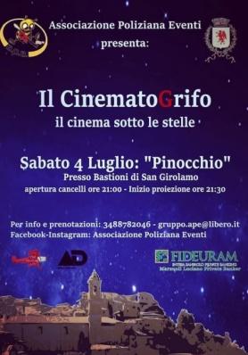 Il cinema sotto le stelle targato APE!