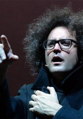 SIMONE CRISTICCHI in MAGAZZINO 18 - Teatro Polizia ...