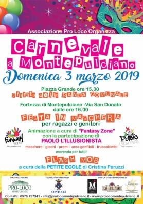 Carnevale a Montepulciano 2019