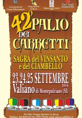 42° Palio dei Carretti - Valiano - 23/24/25 Settembre 2015