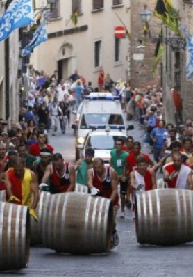 Bravìo delle Botti - Barrels Race