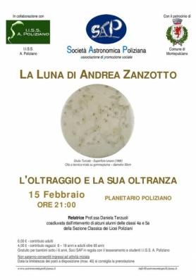 La Luna di Andrea Zanzotto - L'Oltraggio e la sua oltranza