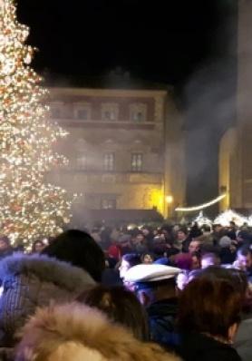 Grande successo di pubblico per la Festa di San Silvestro 2017 e Capodanno 2018 a Montepulciano