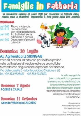 Famiglie in Fattoria - Agriturismo Le Stringaie -  ...