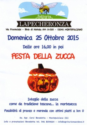 Festa della Zucca - Domenica 25 Ottobre 2015