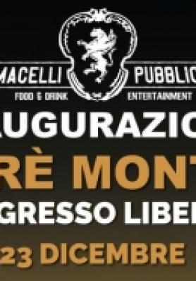 Inaugurazione Macelli Pubblici Frè Monti - 23 Dicembre - Ingresso Libero