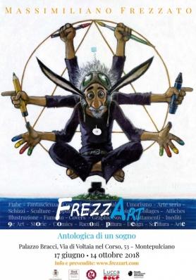 FrezzArt - Antologica di Massimiliano Frezzato