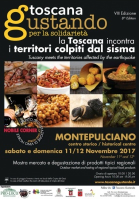 Toscana Gustando per la solidarietà VIII edizione