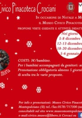 NATALE AL MUSEO CIVICO PINACOTECA CROCIANI