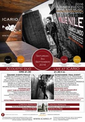 Icario Music Festival - Sabato 3 settembre 2016 - Willie Nile e Marco Limido