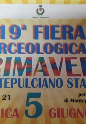 19a Fiera Merceologica di Primavera a Montepulcian ...