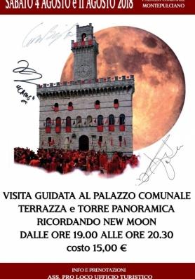 Visita Guidata in Torre e Aperitivo a tema New Moon