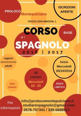 CORSO DI SPAGNOLO 2016 | 2017