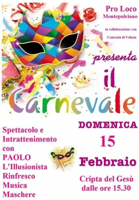 Carnevale a Montepulciano