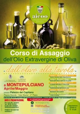Corso di Assaggio dell'Olio Extra Vergine d'Oliva a Montepulciano