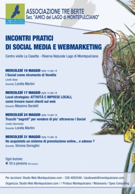 CORSO pratico di Social Media e Webmarketing - Maggio 2017