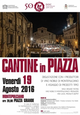 Cantine in Piazza 2016 - Venerdì 19 Agosto