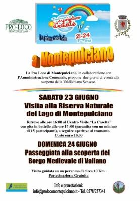 Toscana Arcobaleno d'Estate 2018 – dal 21 al 24 Giugno