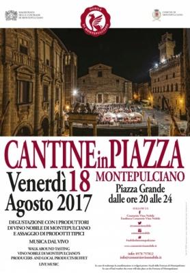 """""""Cantine in Piazza"""": il Vino Nobile di Montepu ..."""